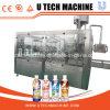 Máquina de rellenar en botella animal doméstico automático del jugo/del té