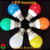 LED cubierta del bulbo de 3 vatios con el difusor grande del ángulo