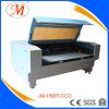 Alta qualidade, último preço para a máquina de estaca do laser (JM-1590T-CCD)