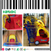 Supermarkt-Plastik scherzt Kind-Einkaufswagen