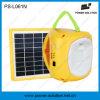 Luz solar do diodo emissor de luz do Portable novo com 11 a lanterna recarregável do diodo emissor de luz 2W