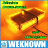 DC12V-24V LED Lightbar 24 LED 24W Beacon Light con Magnets Emergency Strobe Light Bar 4 Colors LED Warning Light
