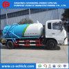 糞便Dongfeng 4X2 6cbm 8cbmの真空か下水の吸引のトラック