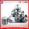 6PCS Set Stainless Steel Spice Jars Wholesale and Pepper Shaker