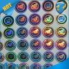 虹Effect Hologram StickerかWarranty Custom Silver Anti FakeレーザーLabel