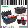 Virgin pp Plastic Nestable e Stackable Storage Crate