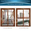 Porte en aluminium personnalisée de patio de taille