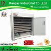 (de 2000 oeufs) matériel automatique bon marché d'établissement d'incubation de poulet de volaille certifié par CE (KP-16)