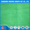 HDPE de Vlakke Netten van het Zonnescherm van de Schaduw van de Draad Groene Opleverende voor Serre