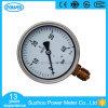demi de type type d'amorçage de bas d'acier inoxydable de 100mm de Wika rempli par liquide d'indicateur de pression