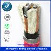 Conductor de aluminio del Al de la baja tensión del cable de transmisión de 4 bases