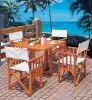 Tableau de jardin et chaise de jardin en bois (SC-L927)