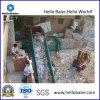 Hydraulic horizontal Paper Waste Baler con Conveyor