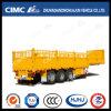 3 de Draai van de Staak/van de Lading/van de Omheining van de as sluit de Dragende Semi Aanhangwagen van de Container