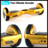 Scooter de équilibrage de mini individu futé de roues de l'or deux