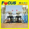 Planta de procesamiento por lotes por lotes concreta fija automática Hzs60 de la buena calidad