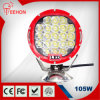 둥근 105W 9450lm LED Driving Light