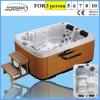 Una vasca calda comoda delle 3 persone di mini disegno