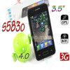 S5830 MTK 6573 3.5  telefone capacitivo de WiFi GPS do Android 4.0 de WCDMA