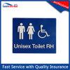 Het unisex- Teken van het Toilet van Relatieve vochtigheid van het Toilet/van Links Braille