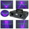 Gros éclairage violet du faisceau Laser/DJ