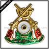 Decoration (BYH-10329)のための3D Building Metal Badge
