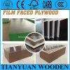 A película impermeável da construção marinha enfrentou a madeira compensada concreta do molde