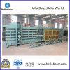 Máquina de embalaje hidráulica de Semi-Aotumatic para el papel usado, plástico