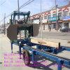 De horizontale Machine van de Lintzaag van de Benzine van het Type Draagbare Houten Scherpe