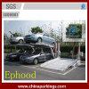 Elevación hidráulica de elevación del estacionamiento del coche del poste de los Pjs dos mini