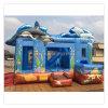 Tema feito-à-medida novo do oceano da alta qualidade castelo inflável do Bouncer