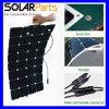 solar flexible 100W con las células solares de Sunpower para el yate y rv ex Shenzhen