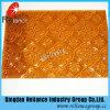 Glace ambre de flore/figure glace/glace de configuration