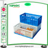 プラスチックFoldableスタック可能卵の木枠