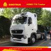 Trucks10wheels 540HP HOWO T7hのトラクターのトラックヘッド12速度マニュアル