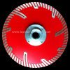 Press caliente Diamond Turbo Segmented Saw Blade con Side Protection