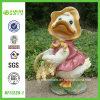 Outdoor Furniture (NF11239-1)のための90s Duck Resin Figurine