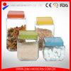 Großhandelsqualitäts-Glasnahrungsmittelglas mit schöner Kappe