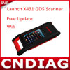 WiFi Multi-Functional initial de Launch X431 Gds Scan Tool Gds Scanner avec Factory Price+Free Update par Email