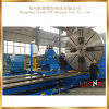 Preço de giro horizontal resistente econômico da máquina do torno de C61400 China