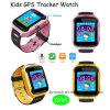 カメラおよび懐中電燈(D26C)が付いている新しい子供GPSの追跡者の腕時計