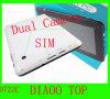 7  SIMおよび2g GSM/3G Calling+Dual Camera+Webcam Skypeのビデオ呼出しを用いるタブレットのPCの電話