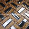 Tartan Design Glass Mosaic Tiles per Wall e Floor.