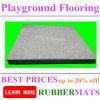 Pavimentazione di gomma del campo da giuoco della stuoia del pavimento di vendita calda di gomma esterna delle stuoie