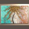 Peinture à l'huile de toile d'horizontal
