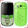 Téléphone portable T006 de la bande TV de quadruple