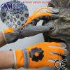 Перчатка работы синтетических кожаный повелительниц Nmsafety садовничая