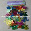 Pasqua ha stampato la decorazione decorativa di Pasqua della ghirlanda del laser del PVC (XM-E-1031)