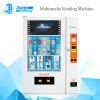 Máquina de venta caliente del café de la pantalla de 17 pulgadas para las bebidas calientes y frías