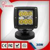 diodo emissor de luz Work Light Driving Light Jk Wrangler Offroad SUV 4WD de 3inch 30W